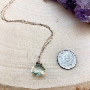 GREEN AMETHYST | NECKLACE