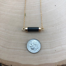 Load image into Gallery viewer, ONYX BAR | NECKLACE