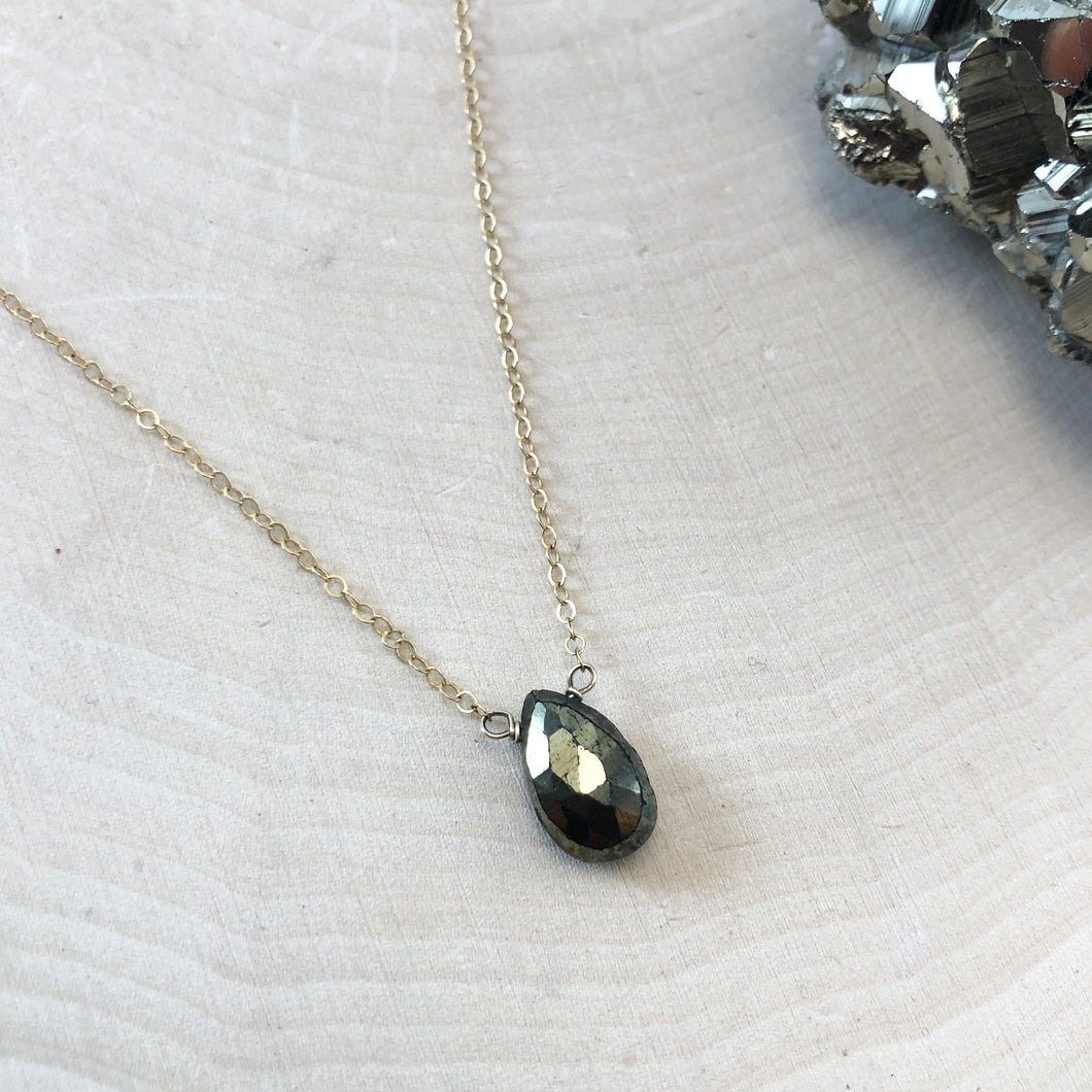 PYRITE | NECKLACE