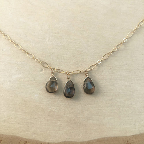 SMOKEY QUARTZ | ANKLET