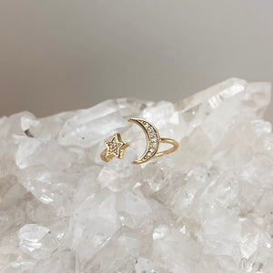 LOVE YOU TO THE MOON | RING
