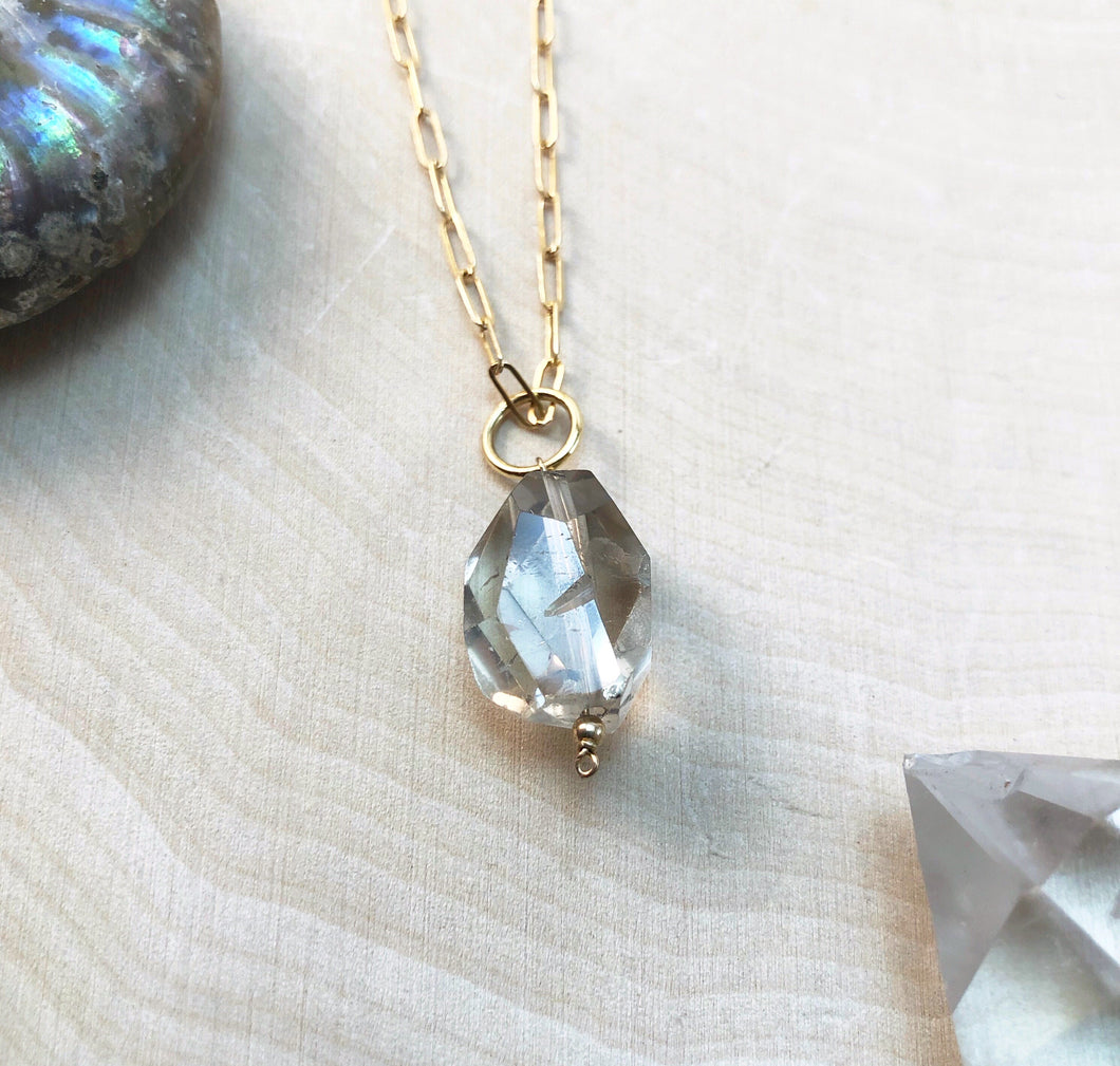 GENUINE CITRINE | NECKLACE