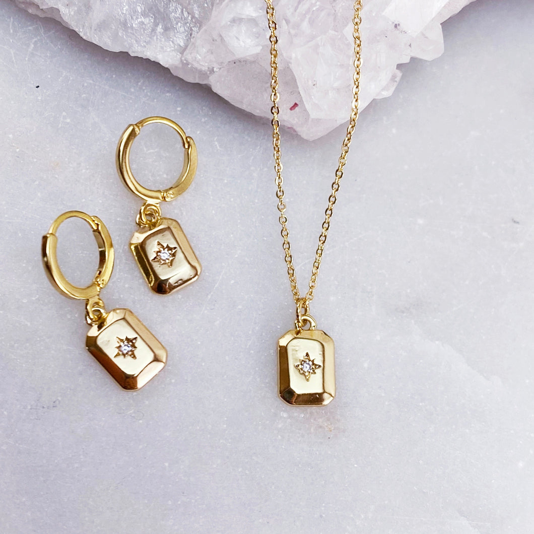 WINDOW TO MY SOUL | NECKLACE + EARRING SET