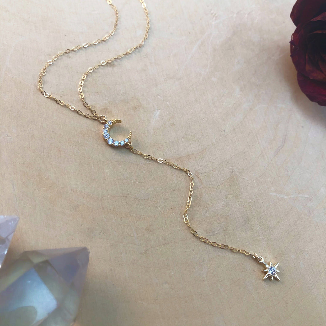 CELESTIAL | LARIAT NECKLACE