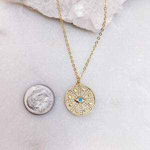 WHEEL OF FORTUNE | NECKLACE