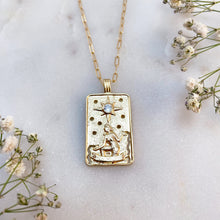 Load image into Gallery viewer, THE STAR | TAROT NECKLACE