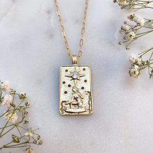 THE STAR | TAROT NECKLACE