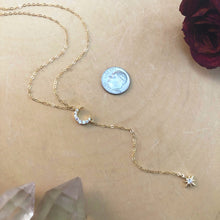 Load image into Gallery viewer, CELESTIAL | LARIAT NECKLACE