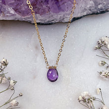 Load image into Gallery viewer, MINIMAL AMETHYST | NECKLACE