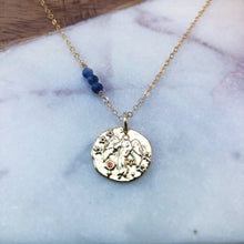 Load image into Gallery viewer, Virgo zodiac necklace