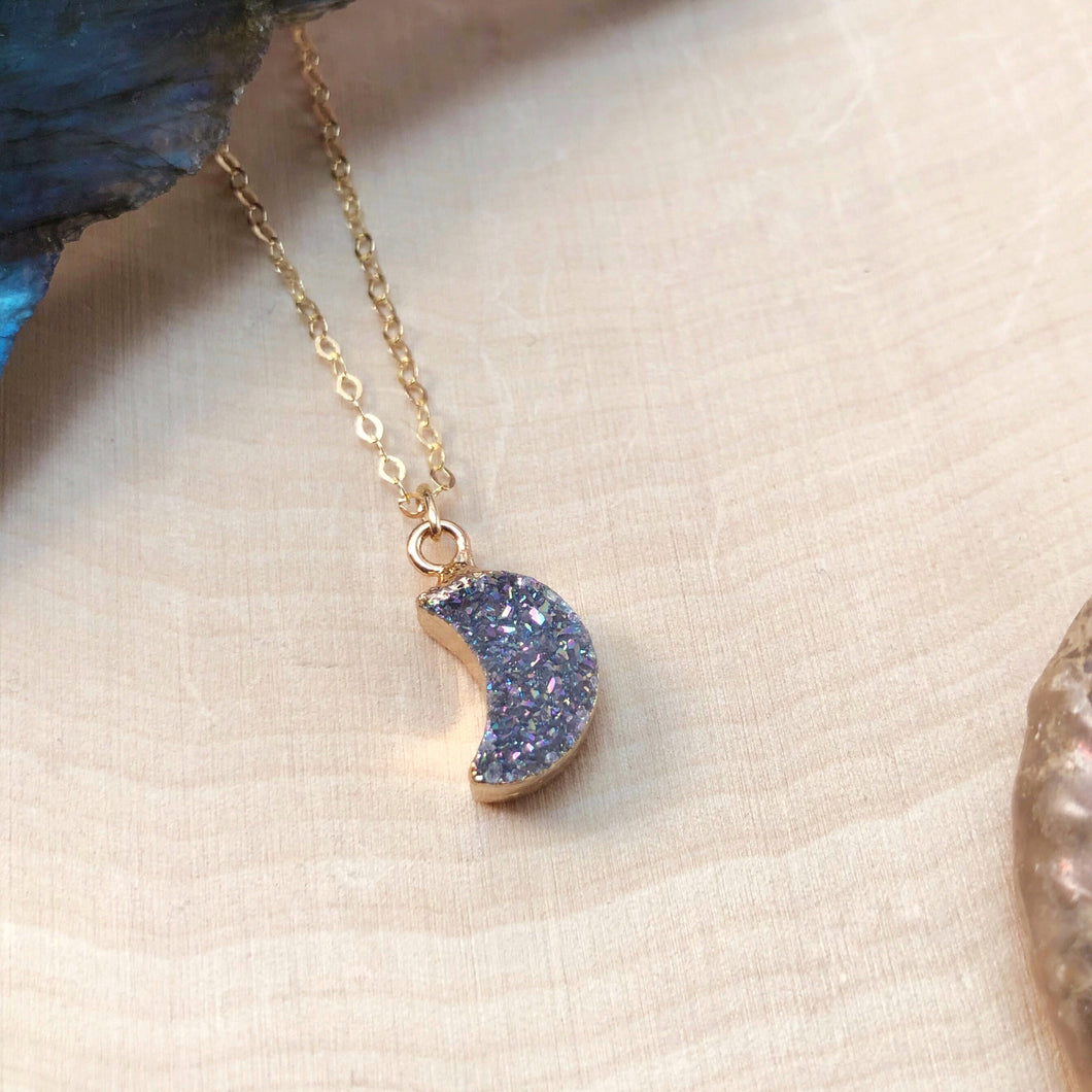 DRUZY MOON | NECKLACE