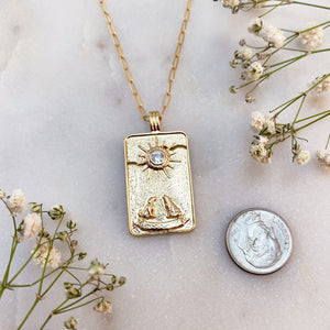 THE MOON | TAROT NECKLACE