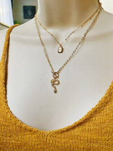 KUNDALINI SERPANT | TOGGLE NECKLACE