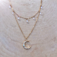 Load image into Gallery viewer, MOON GODDESS | LAYERED NECKLACE