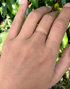 SIMPLE GOLD | STACKING RING
