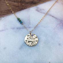 Load image into Gallery viewer, Sagittarius zodiac necklace