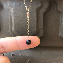 Load image into Gallery viewer, TINY SPINEL | LARIAT NECKLACE