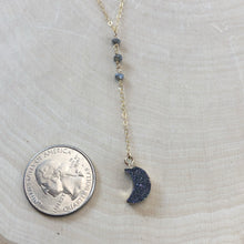 Load image into Gallery viewer, DRUZY MOON | LARIAT NECKLACE