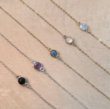 Load image into Gallery viewer, MINIMAL GEMSTONE | CHOKER