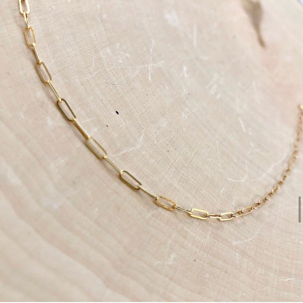 GOLD CHAIN | CHOKER NECKLACE