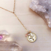 Load image into Gallery viewer, QUEEN OF PENTACLES | LARIAT NECKLACE