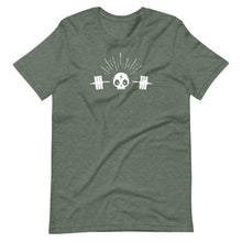 Load image into Gallery viewer, Skull Barbell Tee