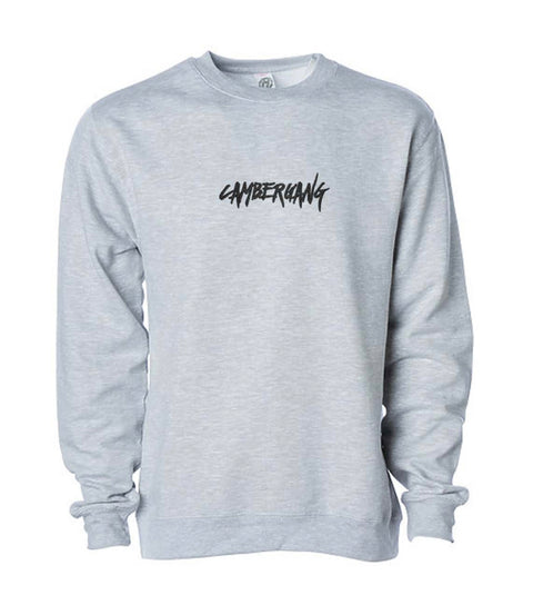 Heather Gray Crew Neck