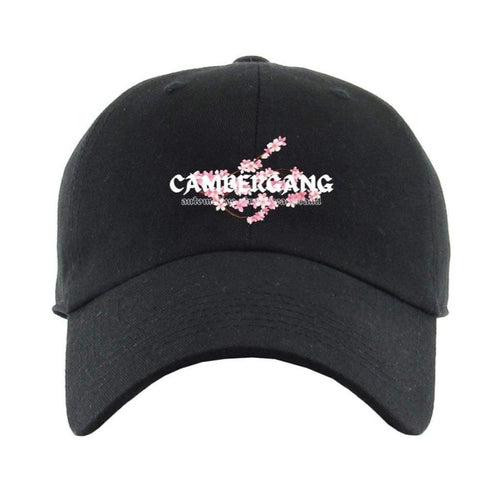 "Black ""Sakura"" Dad Hat"