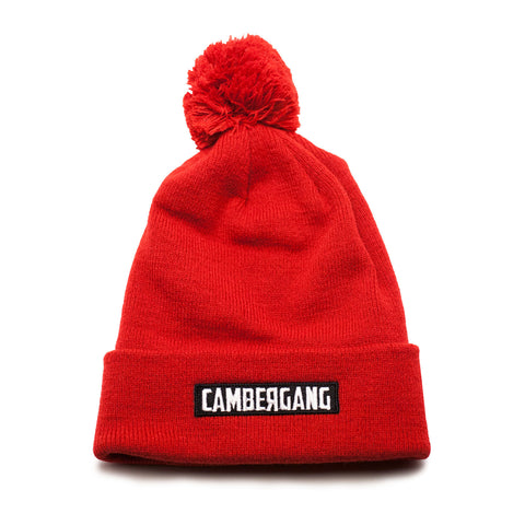 CamberGang Pom Beanies