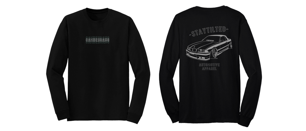 E36 StayTilted - Black Long Sleeve