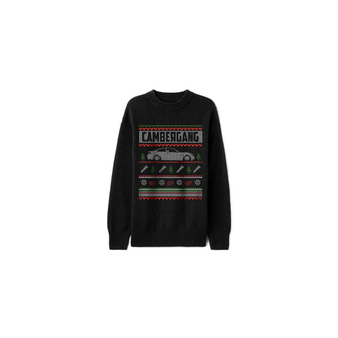 CG BLACK BMW UGLY SWEATER