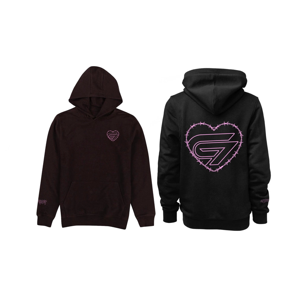CG Wired Heart Hoodie
