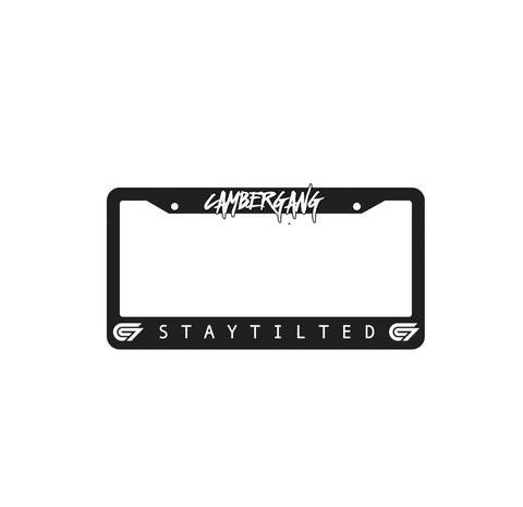 Staytilted  License Plate Frame
