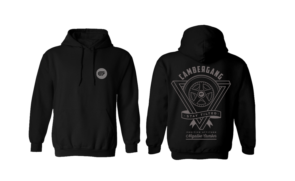 CamberGang - Wheel v1 Pullover Hoodie