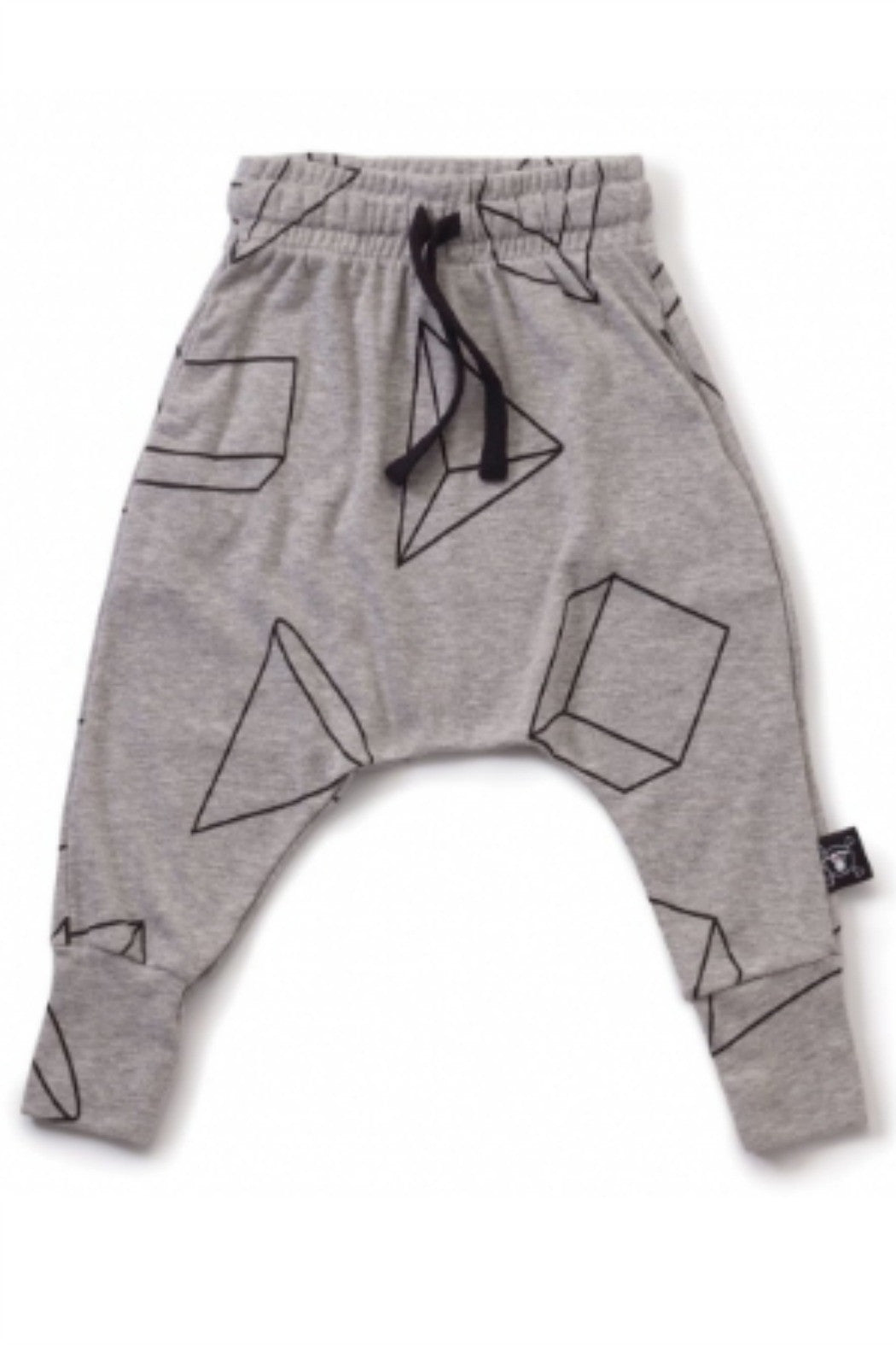 Nununu - Geometric Baggy Pants - R+D Hipster Emporium | Womens & Mens Clothing