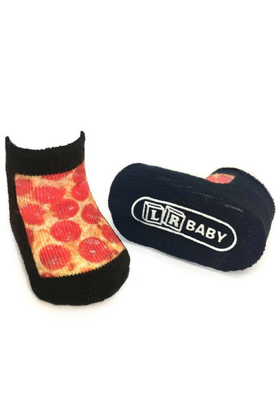 Pizza Baby Socks