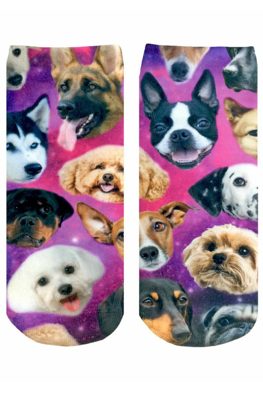Galaxy Puppy Socks - R+D Hipster Emporium | Womens & Mens Clothing