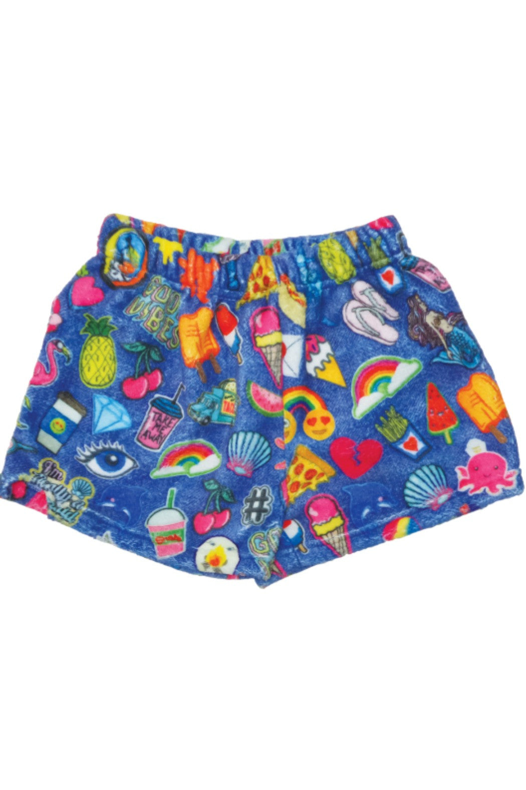 Patches Plush Shorts