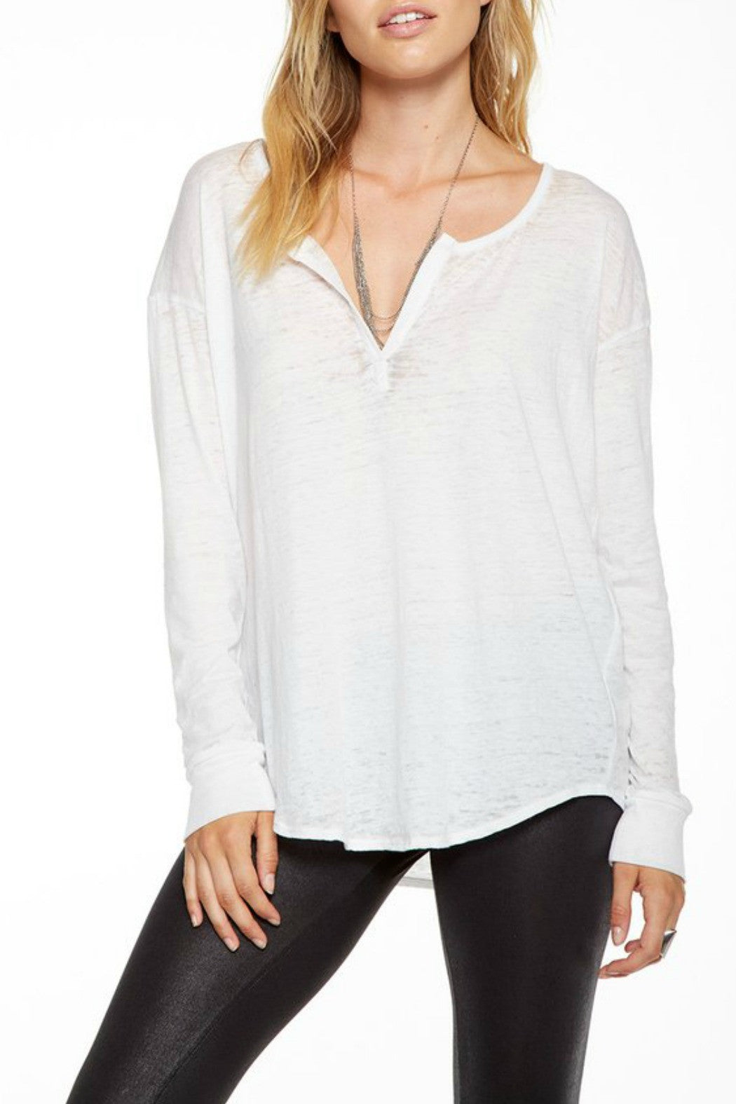 Shirttail Henley - R+D Hipster Emporium | Womens & Mens Clothing