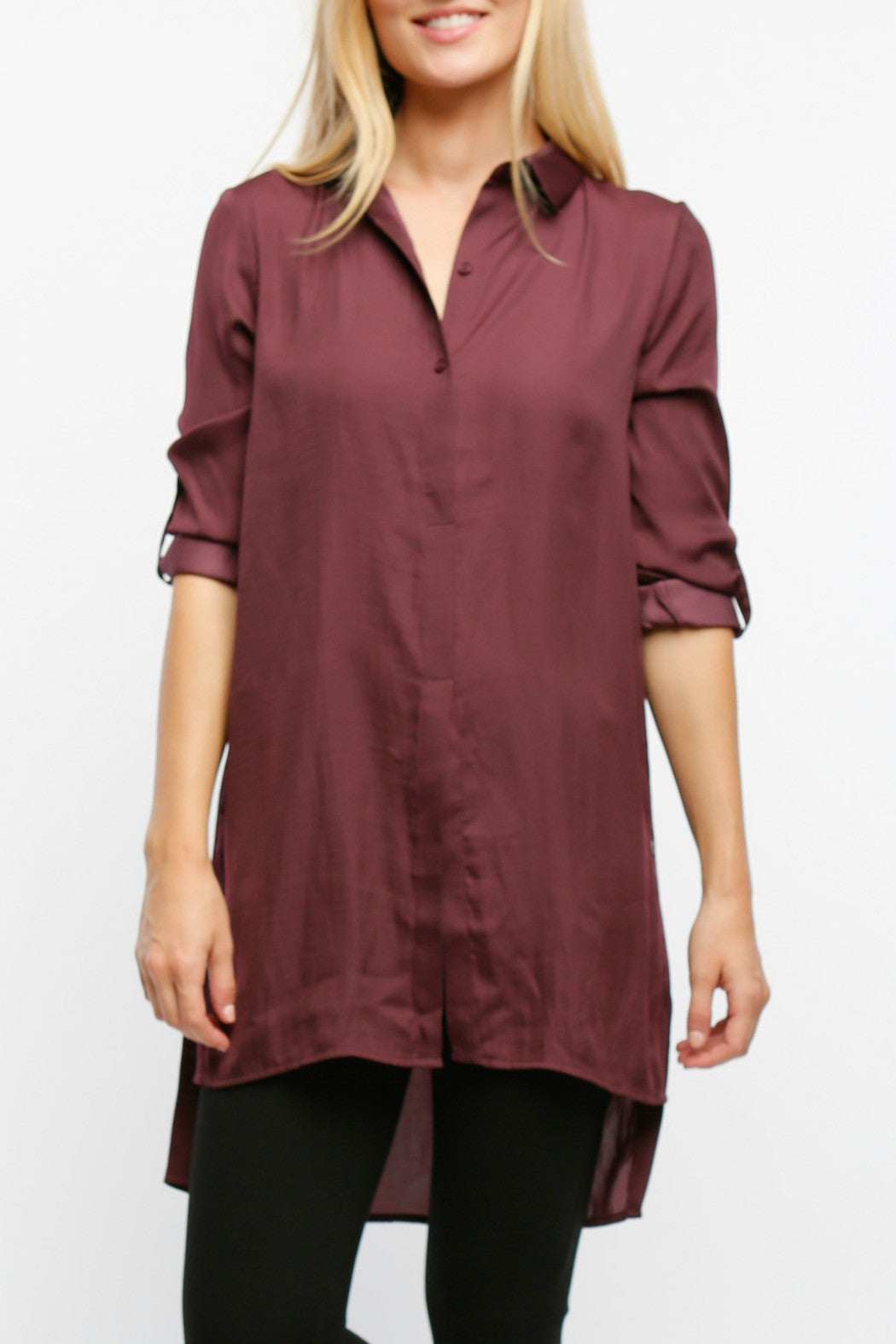 Side Button Top - R+D Hipster Emporium | Womens & Mens Clothing - 1