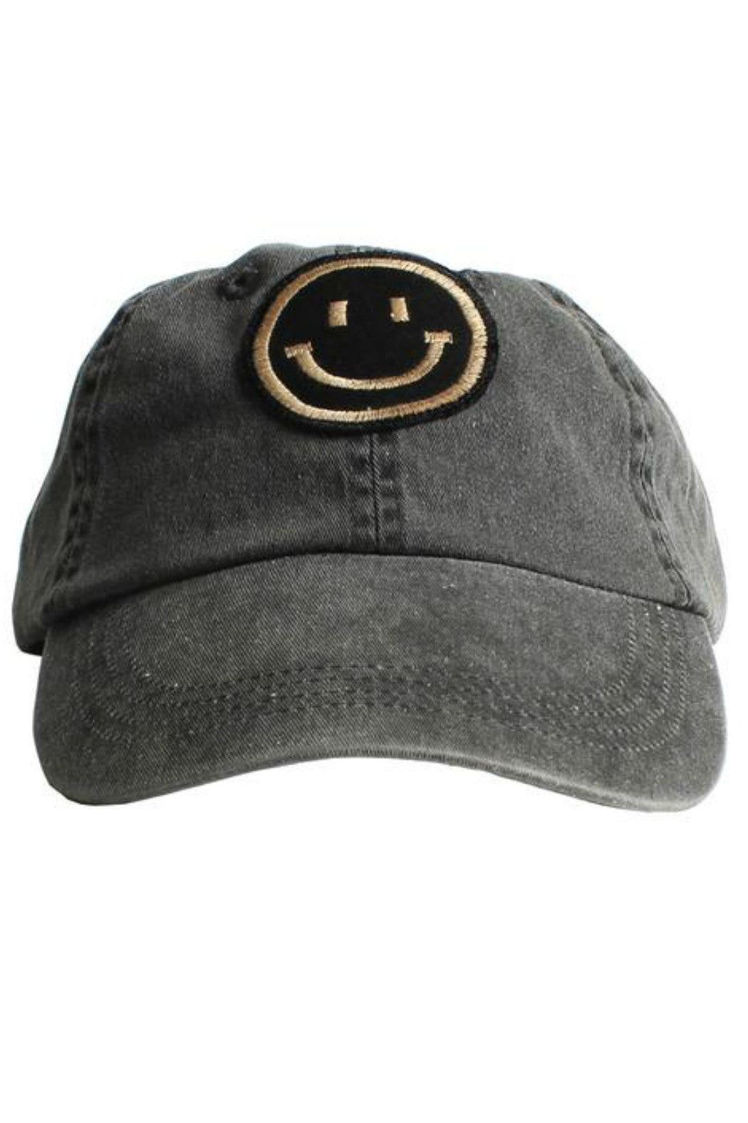 Smile Patch 6-Panel Cap - R+D Hipster Emporium | Womens & Mens Clothing