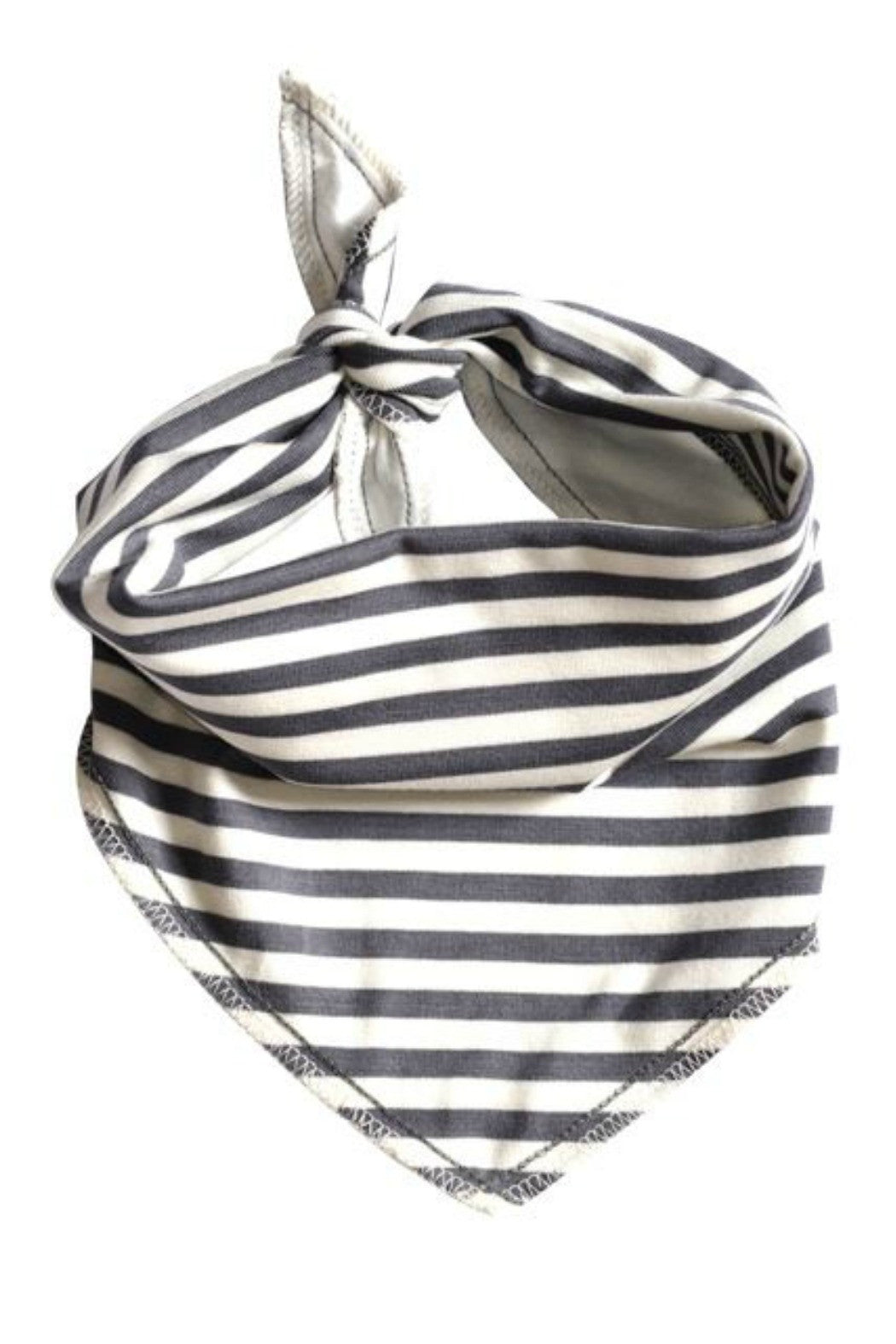 Grey Striped Bandana - R+D Hipster Emporium | Womens & Mens Clothing