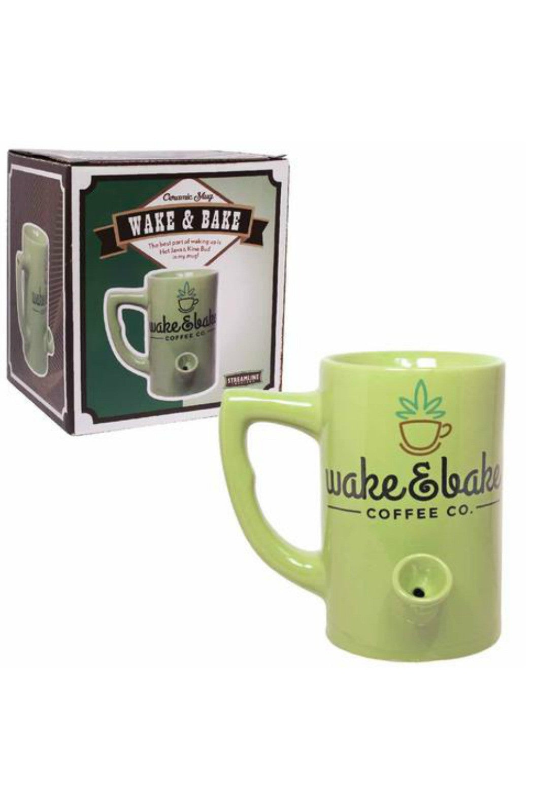 Wake and Bake Mug - R+D Hipster Emporium | Womens & Mens Clothing
