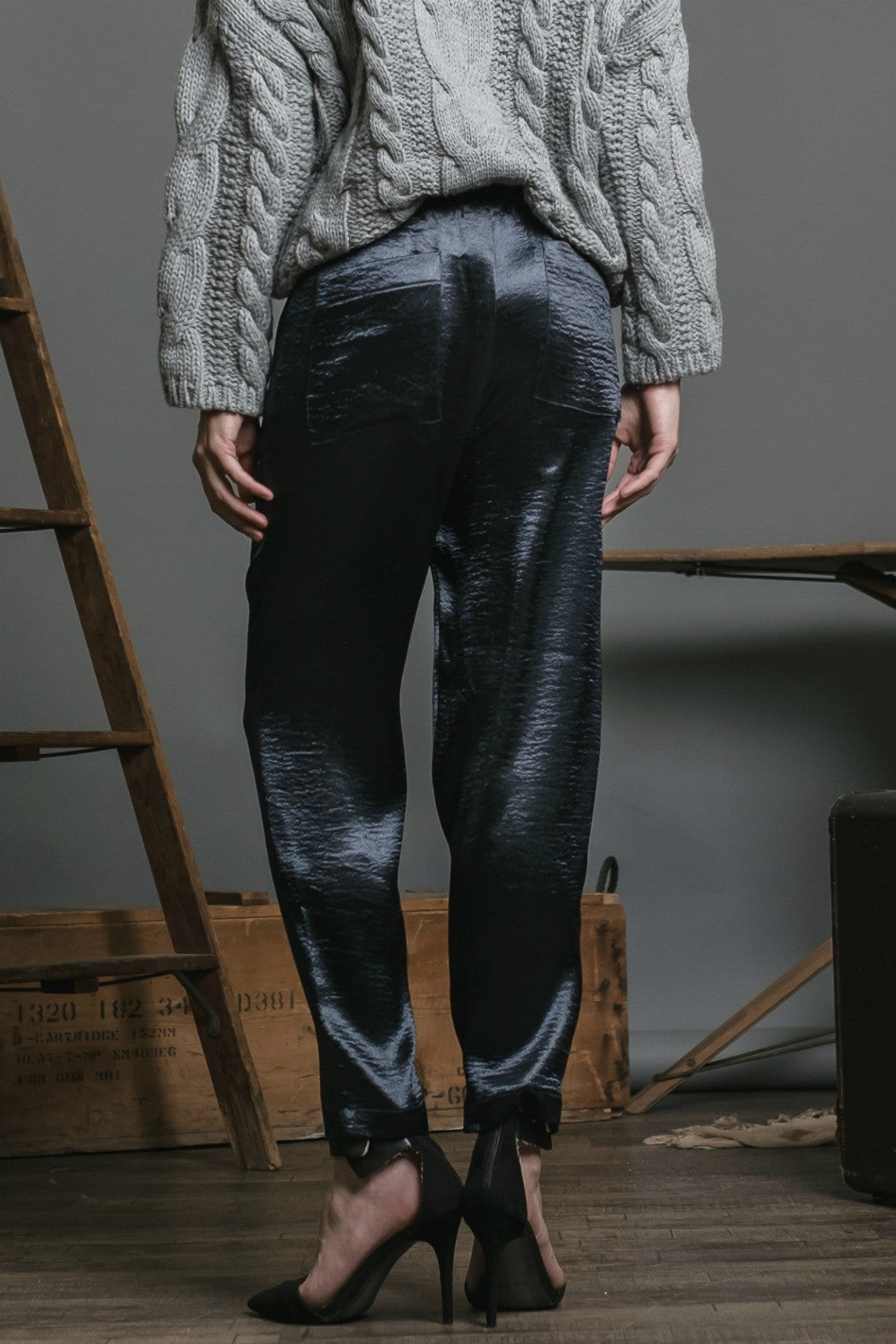 Satin Woven Pant - R+D Hipster Emporium | Womens & Mens Clothing - 2