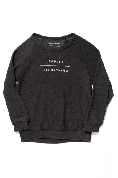 Family Over Everything Sweathshirt - R+D Hipster Emporium | Womens & Mens Clothing