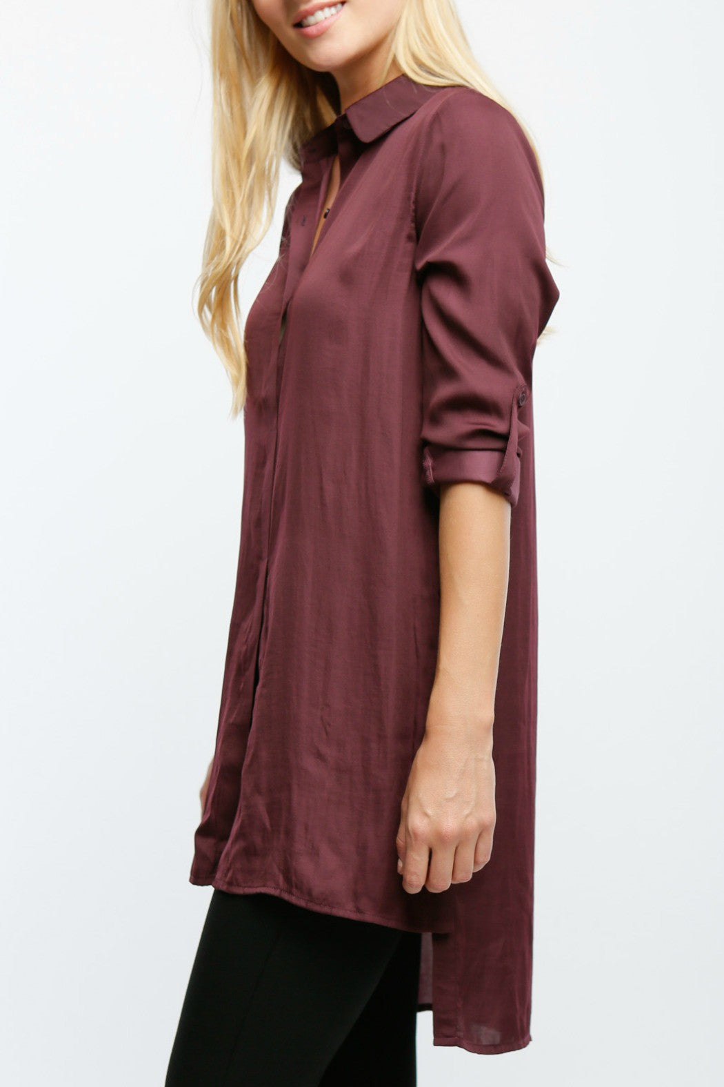 Side Button Top - R+D Hipster Emporium | Womens & Mens Clothing - 2