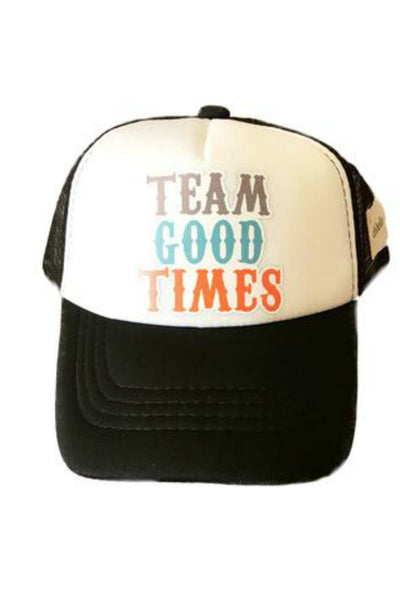 Team Good Times Trucker Hat - R+D Hipster Emporium | Womens & Mens Clothing