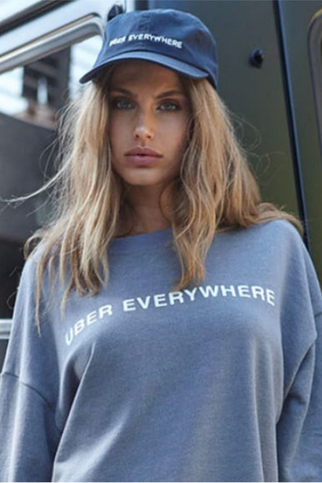 Uber Everywhere Sweatshirt - R+D Hipster Emporium | Womens & Mens Clothing