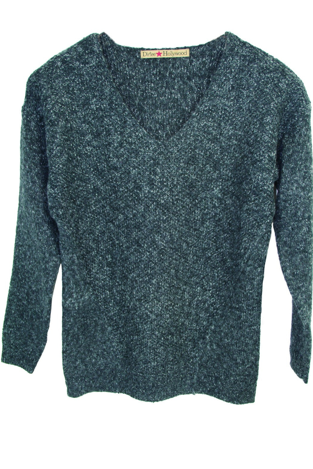 V-Neck Pullover Sweater - R+D Hipster Emporium | Womens & Mens Clothing - 1