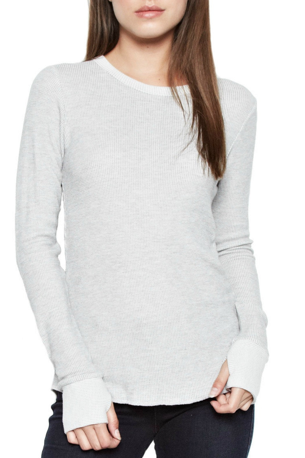 Alick LS fitted thumbhole tee - R+D Hipster Emporium | Womens & Mens Clothing - 1